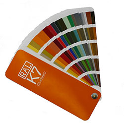 Click for RAL colour chart